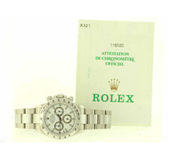 Rolex Watch with Certificate